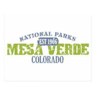 Carte Postale Parc national de MESA Verde