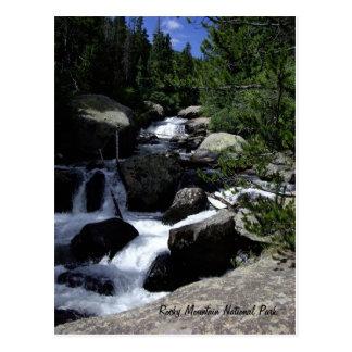 Carte Postale Parc national de montagne rocheuse