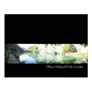Carte Postale parc national de plitvice, Croatie