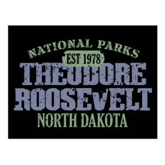 Carte Postale Parc national de Theodore Roosevelt