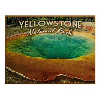 Carte Postale Parc national de Yellowstone