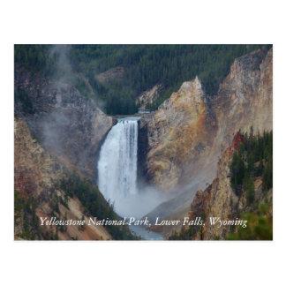 Carte Postale Parc national de Yellowstone, fa inférieur…
