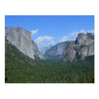Carte Postale Parc national de Yosemite