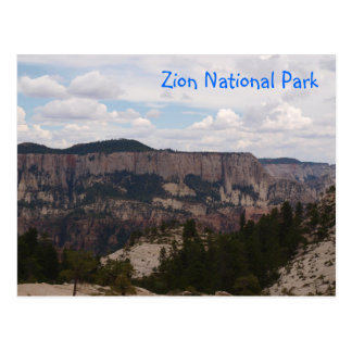 Carte Postale Parc national de Zion