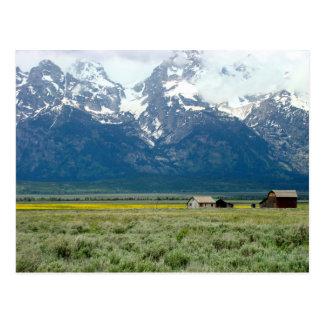 Carte Postale Parc national grand de Teton