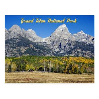 Carte Postale Parc national grand de Teton, Wyoming