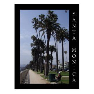 Carte Postale Parc Santa Monica la Californie de palissades