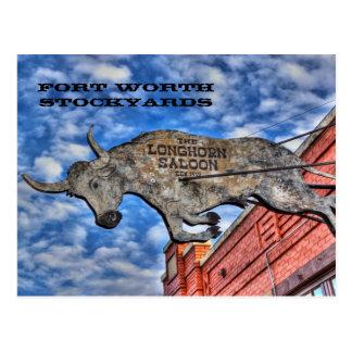 Carte Postale Parcs à bestiaux de Fort Worth : La salle de