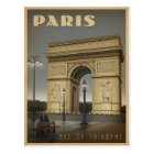 Carte Postale Paris - Arc de Triomphe