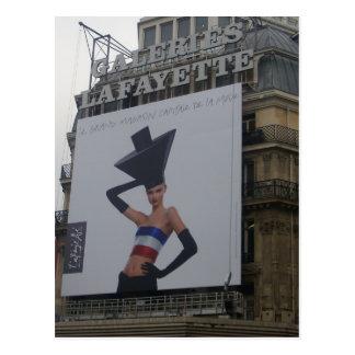 Carte Postale Paris - Galeries Lafayette -