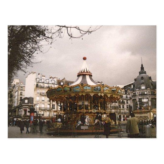 Carte Postale Paris le manège