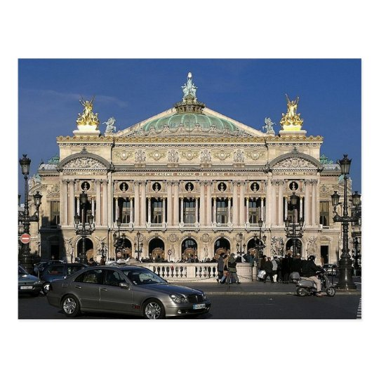 Carte Postale Paris - Op�ra national -