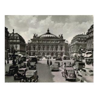 Carte Postale Paris, Opera, 1930