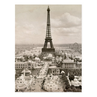 Carte Postale Paris : Tour Eiffel, 1900