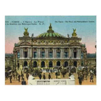 Carte Postale Paris vintage,    opéra