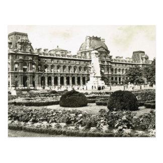 Carte Postale Paris vintage, Paris, Louvre