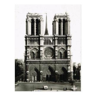 Carte Postale Paris vintage, Paris Notre Dame, Ile de la Citie