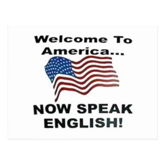 Carte Postale Parlez maintenant anglais