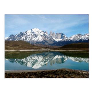 Carte Postale Parque Torres del Paine, Chili