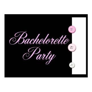 Carte Postale Partie de Bachelorette