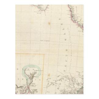 Carte Postale Partie orientale de l'Australie