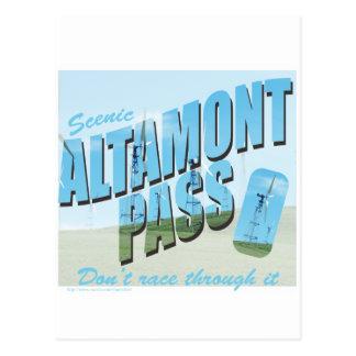 Carte Postale Passage d'Altamont