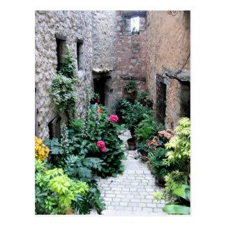 Carte Postale Passage en La Turbie, France