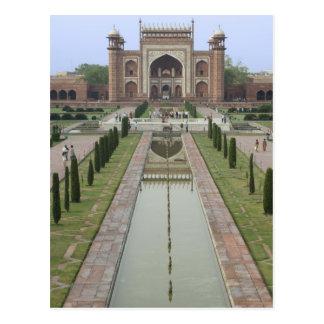 Carte Postale Passage vers le Taj Mahal, Inde