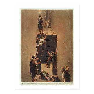Carte Postale Passez de la deuxième à troisième galerie en Th