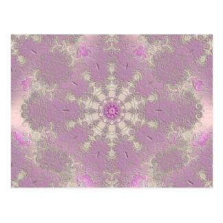 Carte Postale Passion violette