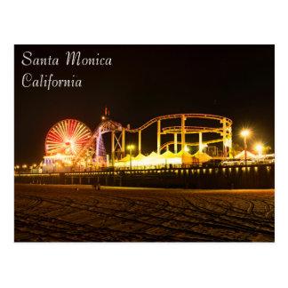 Carte postale passionnante de plage de Santa