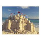 Carte Postale Pâté de sable sur la plage