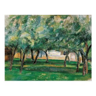 Carte Postale Paul Cezanne - ferme en Normandie