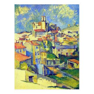 Carte Postale Paul Cezanne - Gardanne