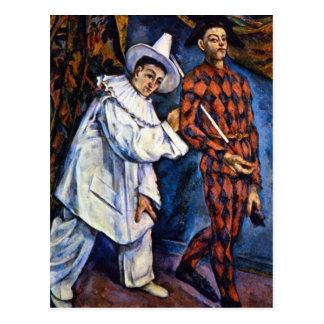 Carte Postale Paul Cezanne - mardi gras
