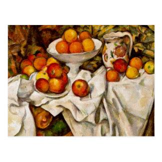 Carte Postale Paul Cézanne - pommes et oranges