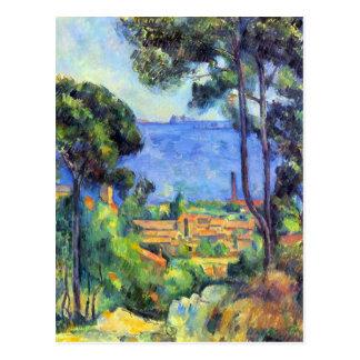 Carte Postale Paul Cezanne - scape de terre