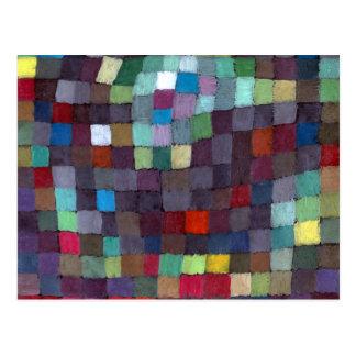Carte Postale Paul Klee peut décrire