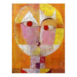 Carte Postale Paul Klee - Senecio