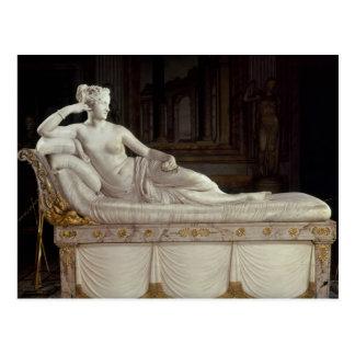 Carte Postale Pauline Bonaparte comme Vénus triomphant,