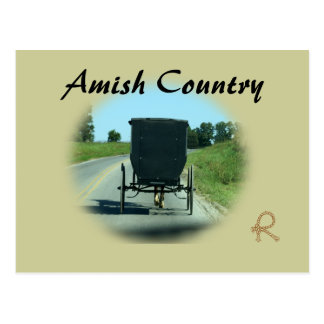 Carte Postale Pays amish