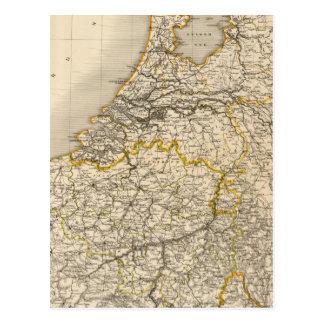 Carte Postale Pays-Bas et la Belgique 2