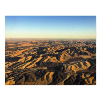 Carte Postale Pays de vin de Walla Walla d'en haut