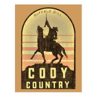 Carte Postale Pays Wyoming de Cody