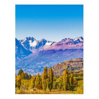 Carte Postale Paysage de lac et de montagnes, Patagonia, Chili