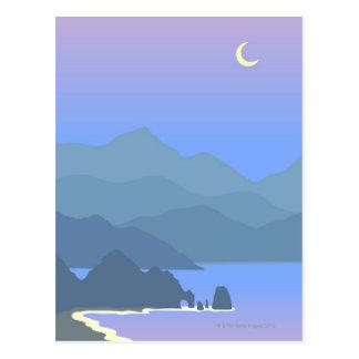 Carte Postale Paysage marin de Cabo