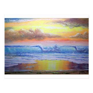 Carte Postale Paysage marin ensoleillé tropical