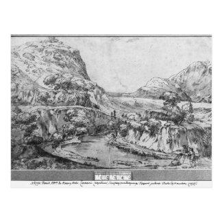 Carte Postale Paysage montagneux