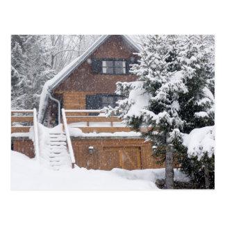 Carte Postale paysage neigeux