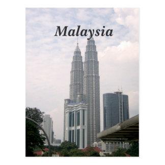 Carte Postale Paysage urbain de la Malaisie